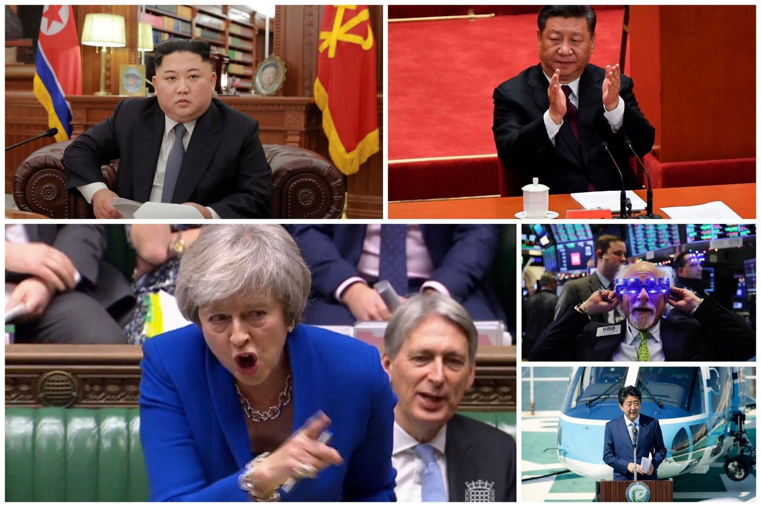 Political news around the world, end of the year 2019